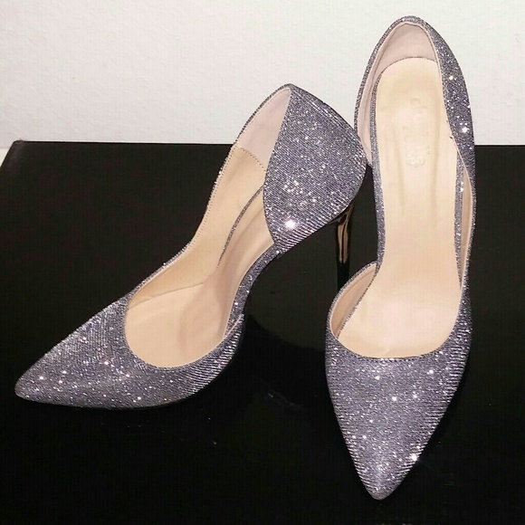 761fdabe39ff Charlotte Russe Shoes - Sparkly Holiday Heels